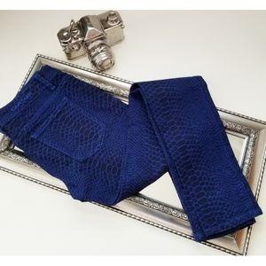 CARMAR Royal printed skinny jean